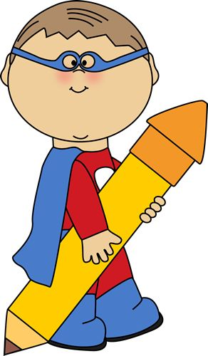 Notebook clipart superhero Art this on about Superhero