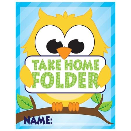 Owl Folder Owl Homework Folder