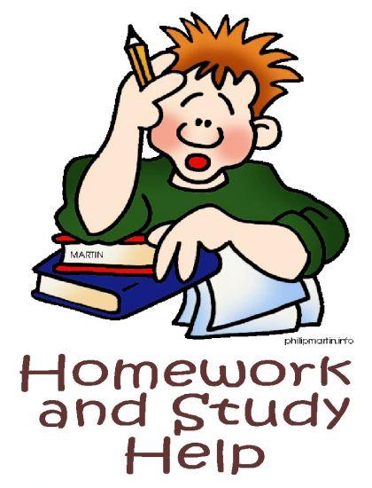 Larger clipart homework  Art help clipart Free
