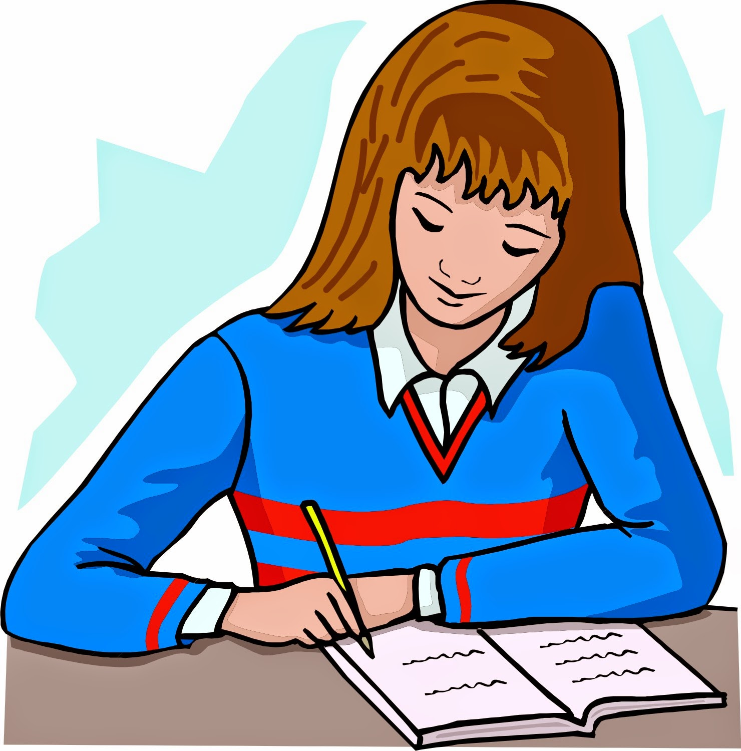 Reflection clipart learning #5