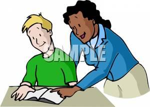 Homework clipart teacher Explaining Clipart To  Homework