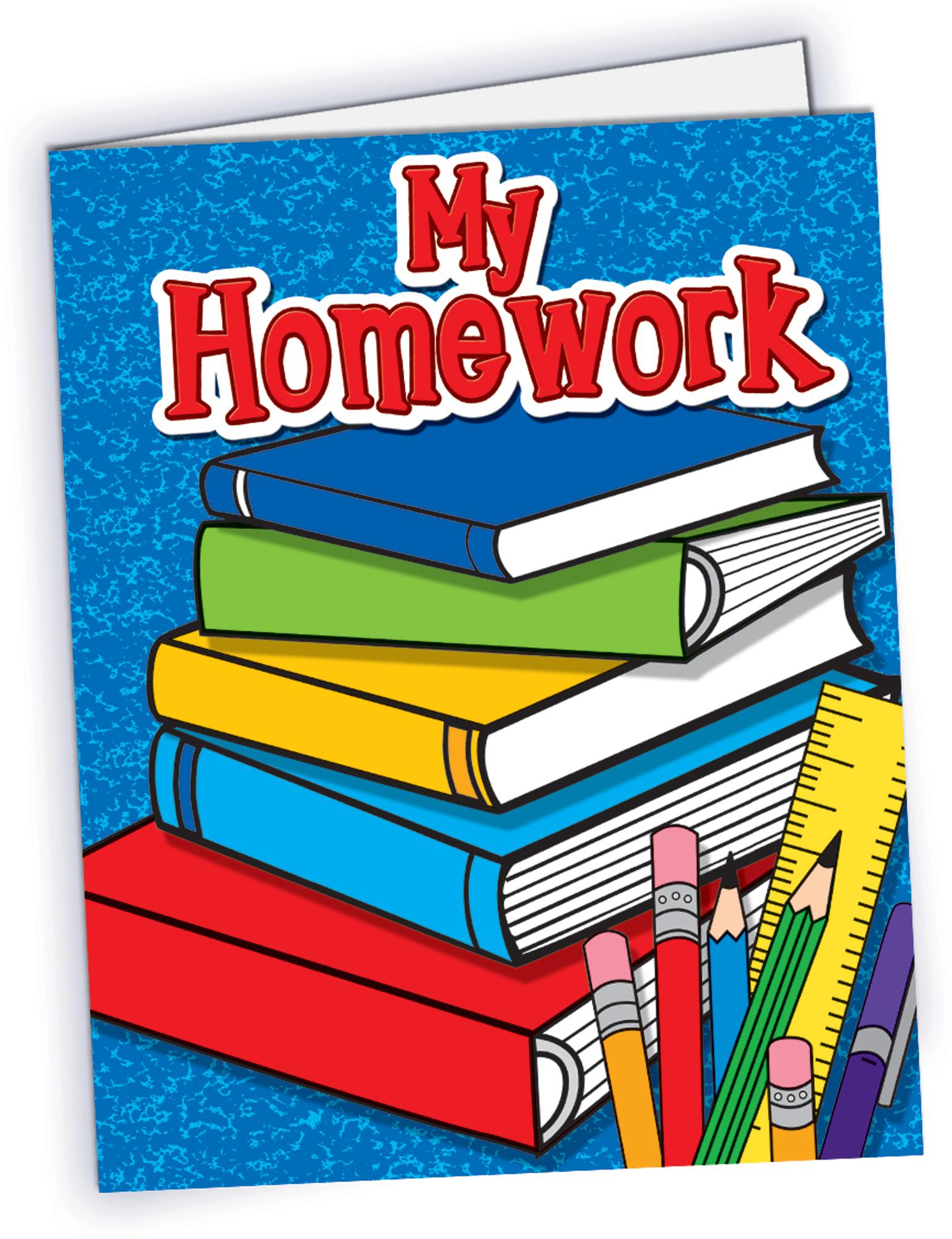 Homework clipart teacher Pocket TCR4941 Folder My Homework