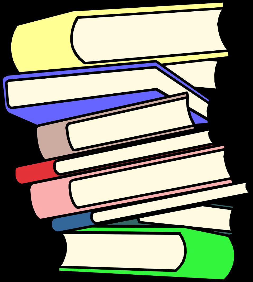 Homework clipart textbook Of stack Tall art clipart