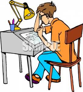 Homework clipart today's Free Clipart boy%20homework%20clipart Student Clipart