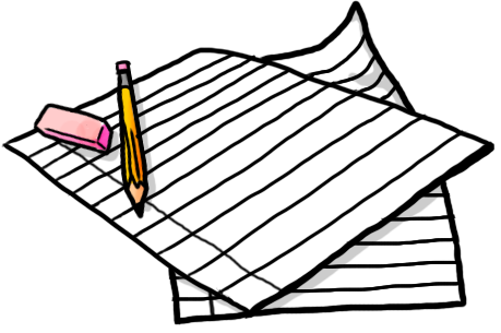 Homework clipart transparent Planner Clipart Cooper Art School