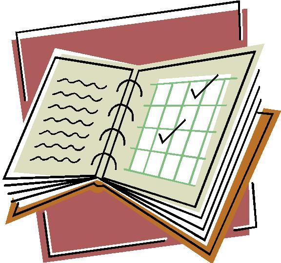 Homework clipart workbook Clipart  Symbol Workbook Free