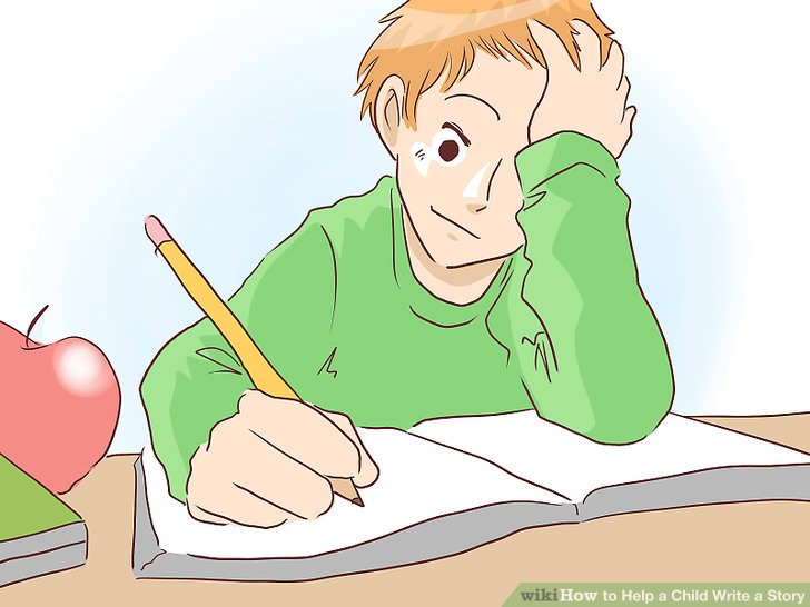 Homework clipart writing story A a Step Child wikiHow
