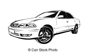 Honda clipart 35  Art car illustrations