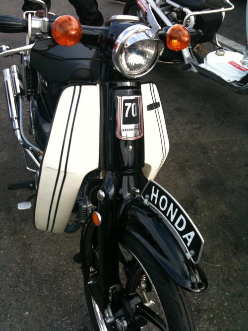 Honda clipart c70 C70 Honda custom was f: