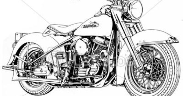 Drawn biker clip art #6