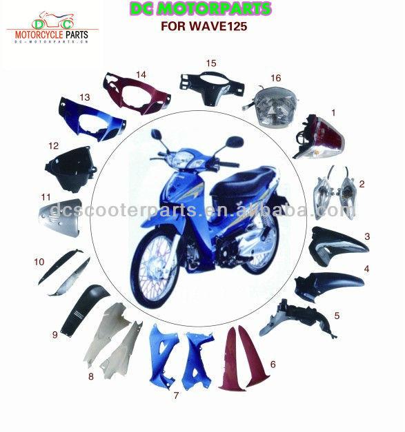 Honda clipart honda wave Parts Body Motorcycle  Motorcycle