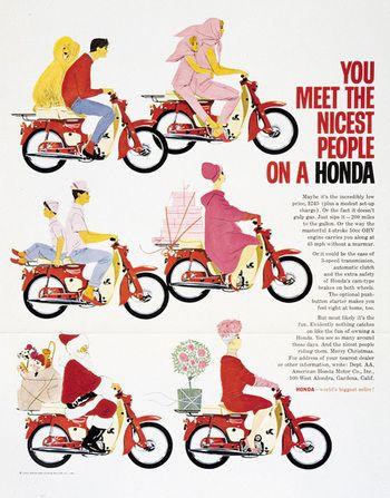 Honda clipart retro Honda #Vintage images Advertisement Pinterest