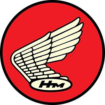 "Honda clipart retro Sticker Honda Classic 4"" Classic"