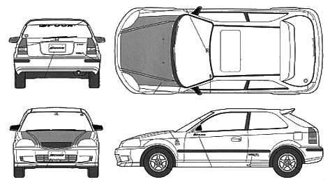 Honda clipart type r Vector R Type Honda Honda