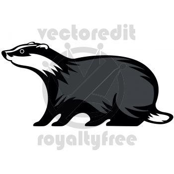 Honey Badger clipart fierce #2