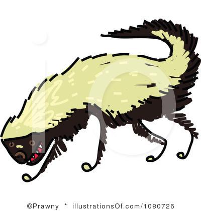 Honey Badger clipart fierce #6