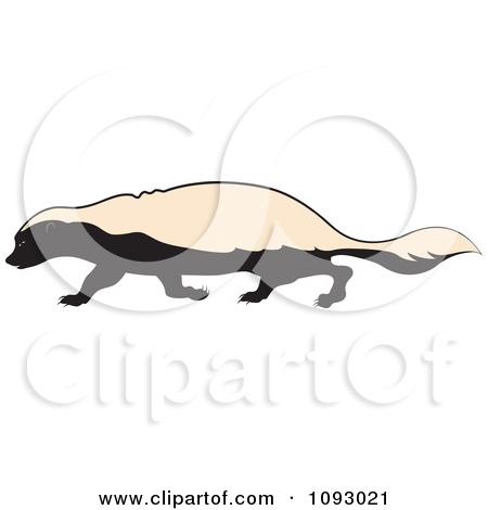 Honey Badger clipart fierce #3
