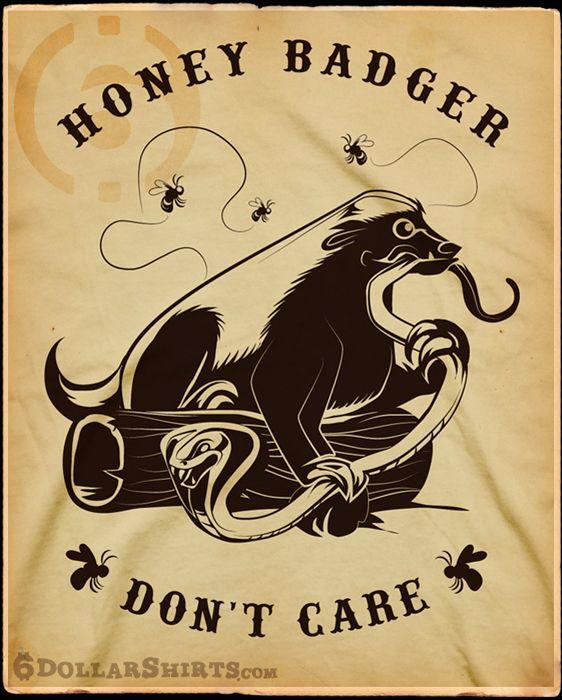 Honey Badger clipart tribal #9