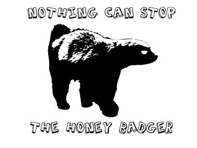Honey Badger clipart tribal #7