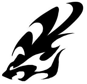 Honey Badger clipart tribal #15
