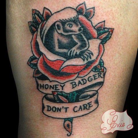 Honey Badger clipart tribal #10