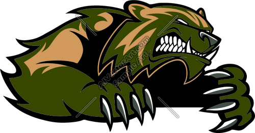Badger clipart mascot Mascot mascot clip wolverine Clipart