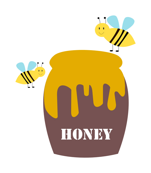 Honey clipart Valentine clip Bee Funny Related