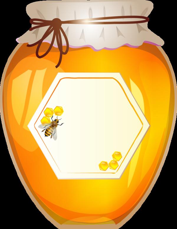 Honey clipart * ART JAR Honey KITCHEN