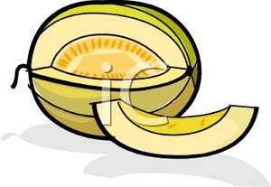 Honeydew clipart slice Art Image Art Clip Honeydew
