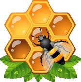 Honeycomb clipart Bee Art honeycomb Honeycomb Royalty
