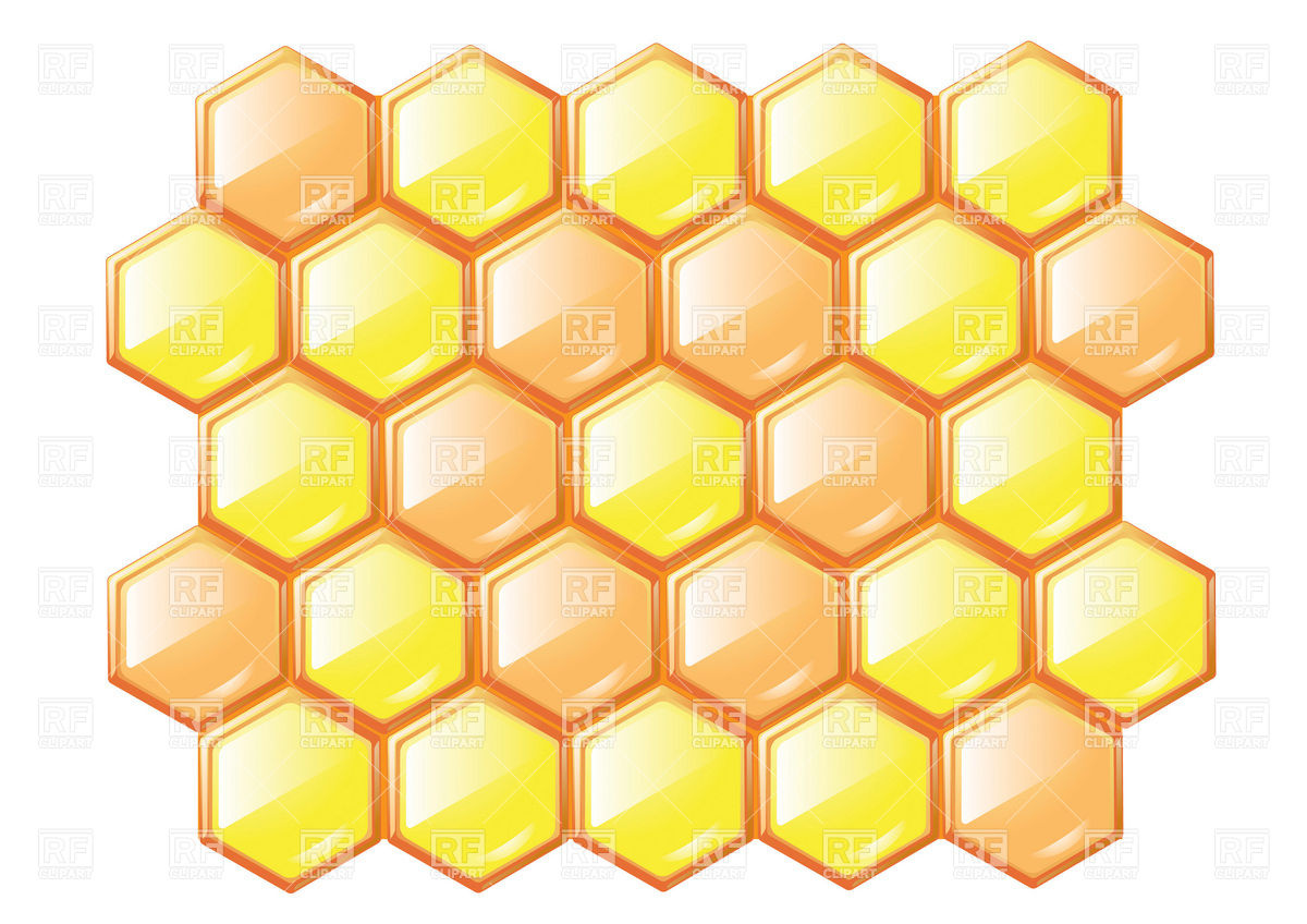 Honeycomb clipart Sweet collection honeycombs honeycomb and