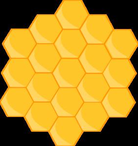 Bee Hive clipart honeycomb Vector at  com royalty