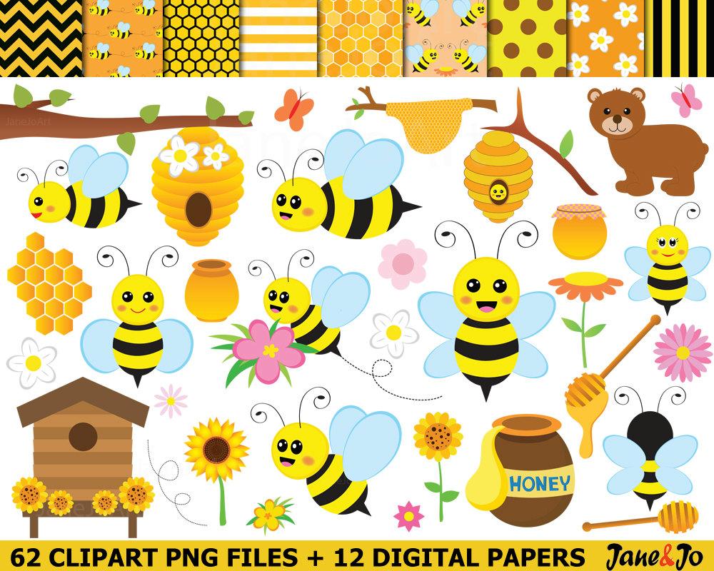 Bee Hive clipart honey bee  art cliparts is Bee