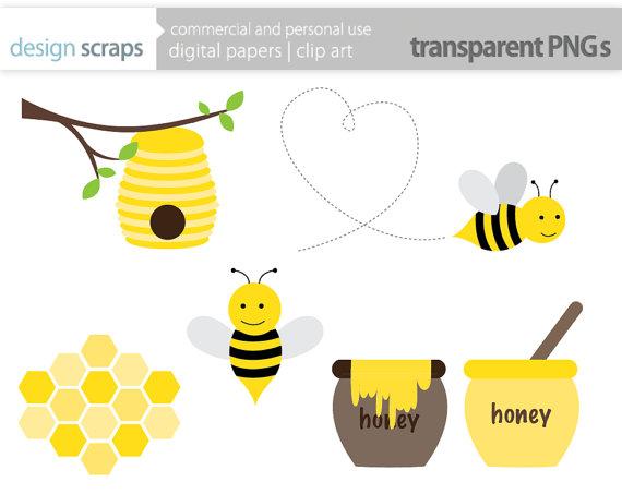 Bee Hive clipart honey bee Be+clip+art+graphics+bumble+bee+honey+bee+hive+by+designscraps Honeycombs +$