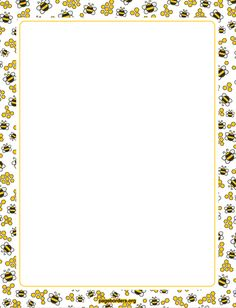 Bees clipart cartoon character This Border Find Art Pop