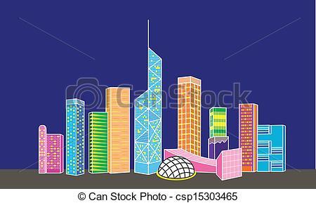 Hong Kong clipart Hong Hong Clipart Kong Building