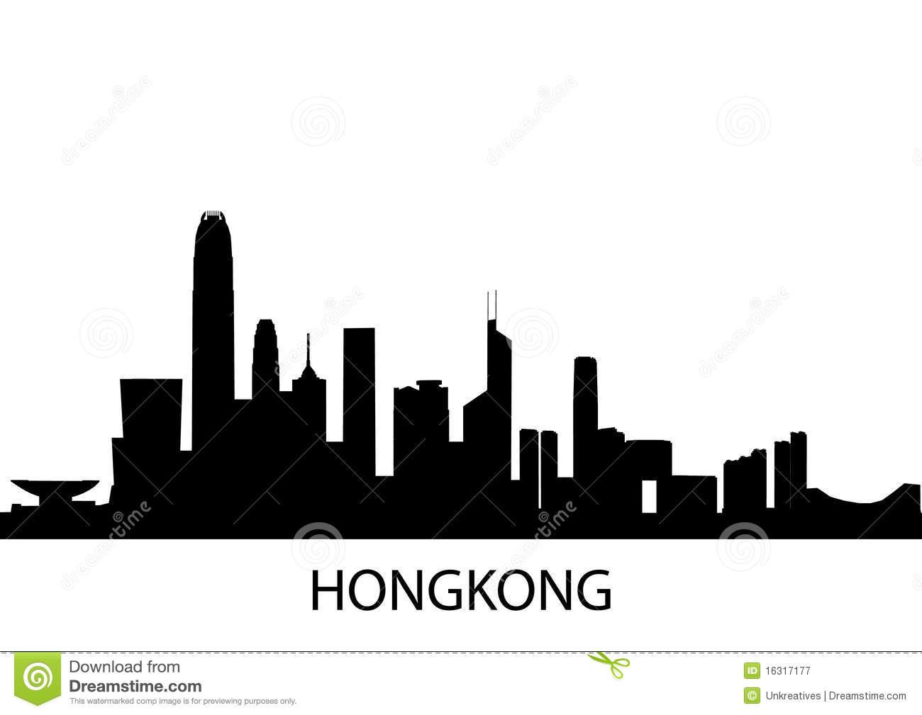 Hong Kong clipart Hong Hong Clipart Kong Skyline