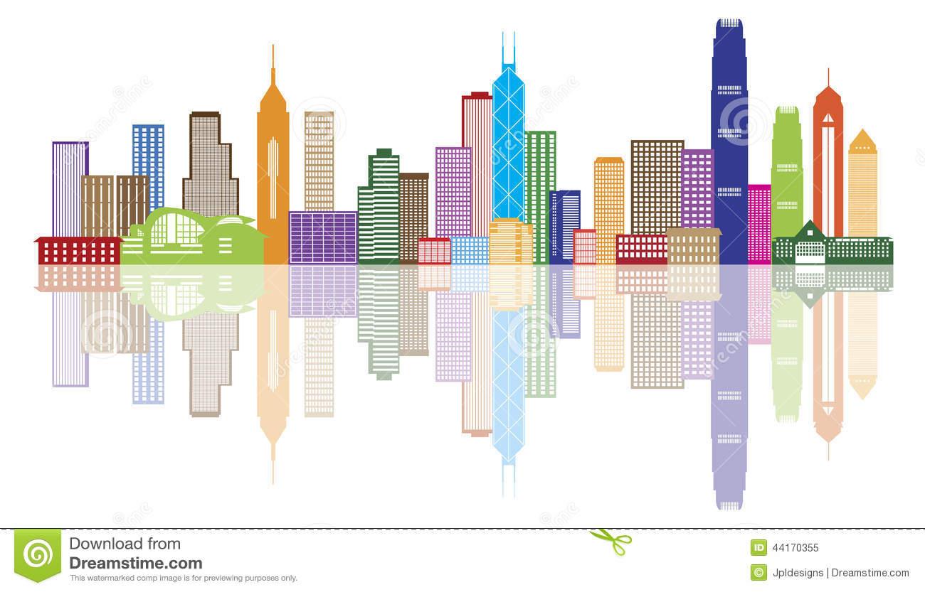 Hongkong clipart Hong Clip Cityscape Clipart Cityscape