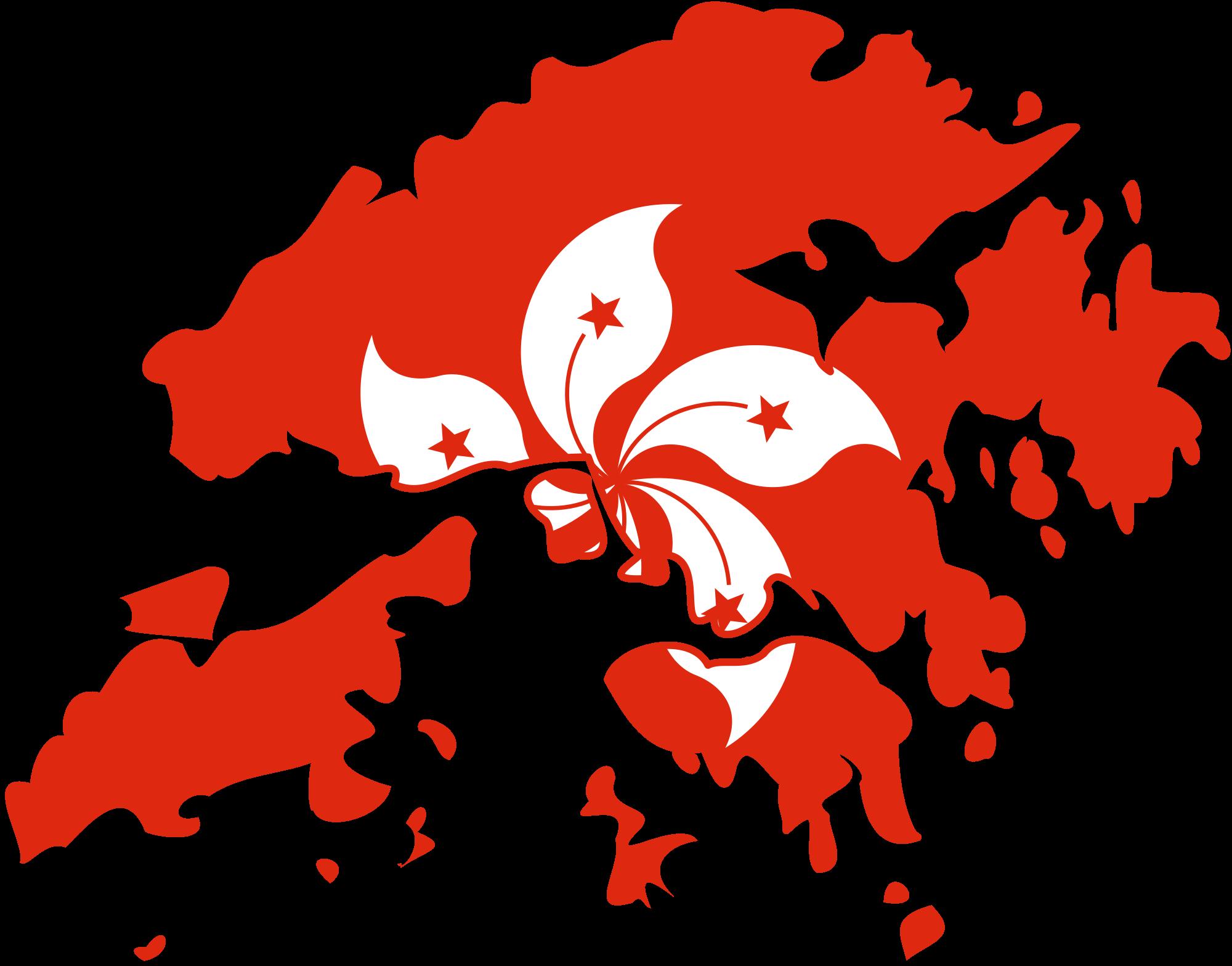 Hongkong clipart Hong Kong Flag Flag Wikimedia svg Open Kong