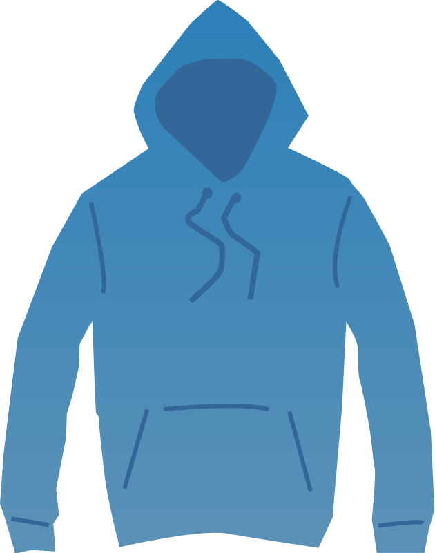 Coat clipart hood Hood  Clip on Clipart