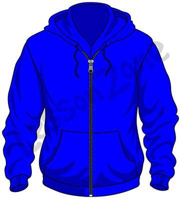 Hood clipart blue jacket Jacket clip 5 vector files