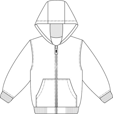 Zipper clipart technical drawing Clipart Sweatshirt Cliparts Clipart Cliparts
