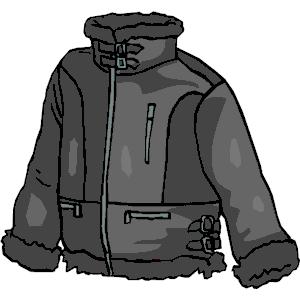 Coat clipart hood Jacket Jacket Jacket  of
