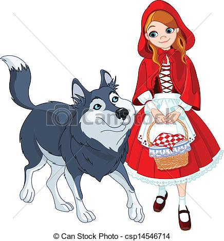 Hood clipart little red riding hood wolf Red Savoronmorehead Clipart Red Hood