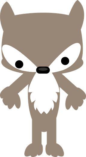 Hood clipart little red riding hood wolf Chapeuzinho Hood Riding 565 And
