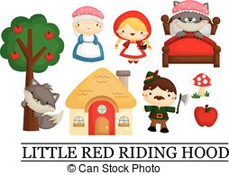 Hood clipart little red riding hood wolf Red Clipart Hood Red Savoronmorehead
