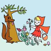 Hood clipart little red riding hood wolf Little Hood Clipart Clipart Riding