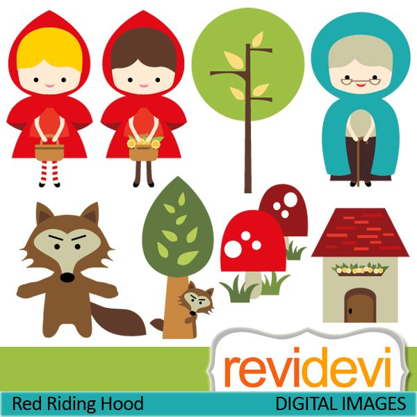 Red Riding Hood clipart hungry wolf Wolf Pin  this Bad