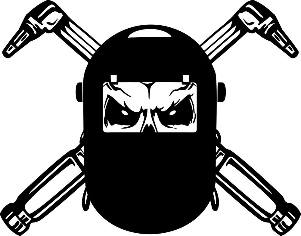 Mask clipart welder Decal about Mask More More