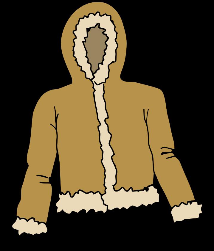 Hood clipart winter coat Coat Jacket Clipart Bay Winter